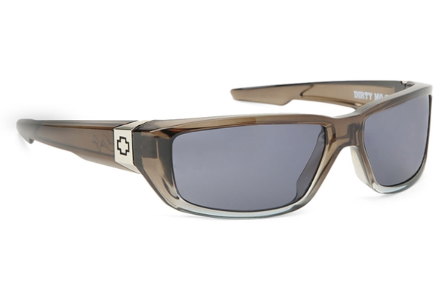 Spy DIRTY MO Sunglasses in Grey Crystal Fade w/ Grey Lens