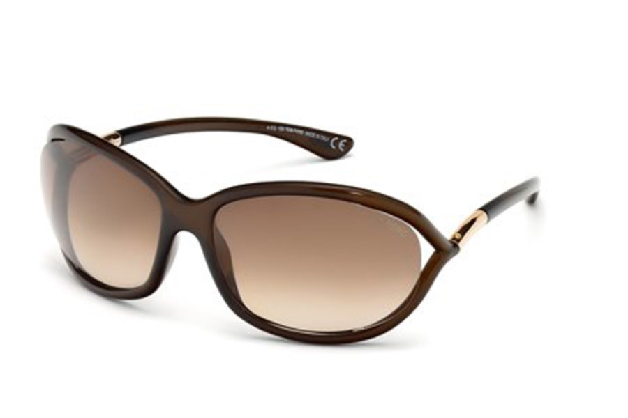 Tom Ford FT0008 Jennifer Sunglasses in 692 - Color
