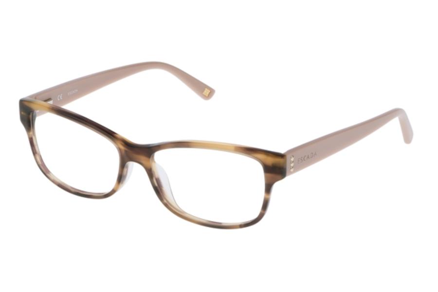 Glasses Frames Escada Eyewear : Escada VES 382 Eyeglasses FREE Shipping - Go-Optic.com