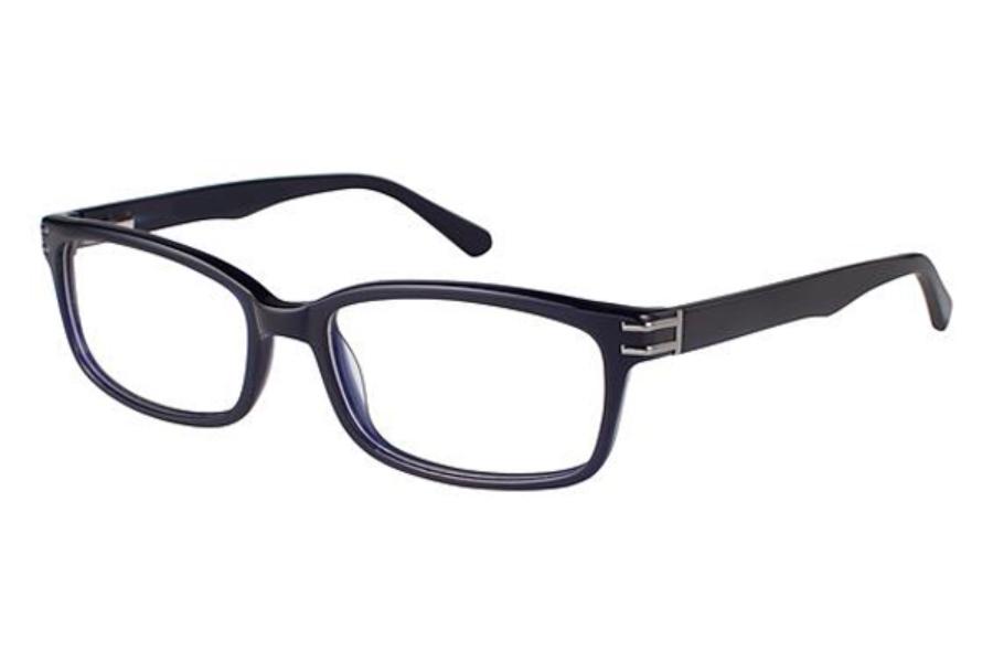 Vans Glasses Frames : Van Heusen S358 Eyeglasses FREE Shipping - Go-Optic.com