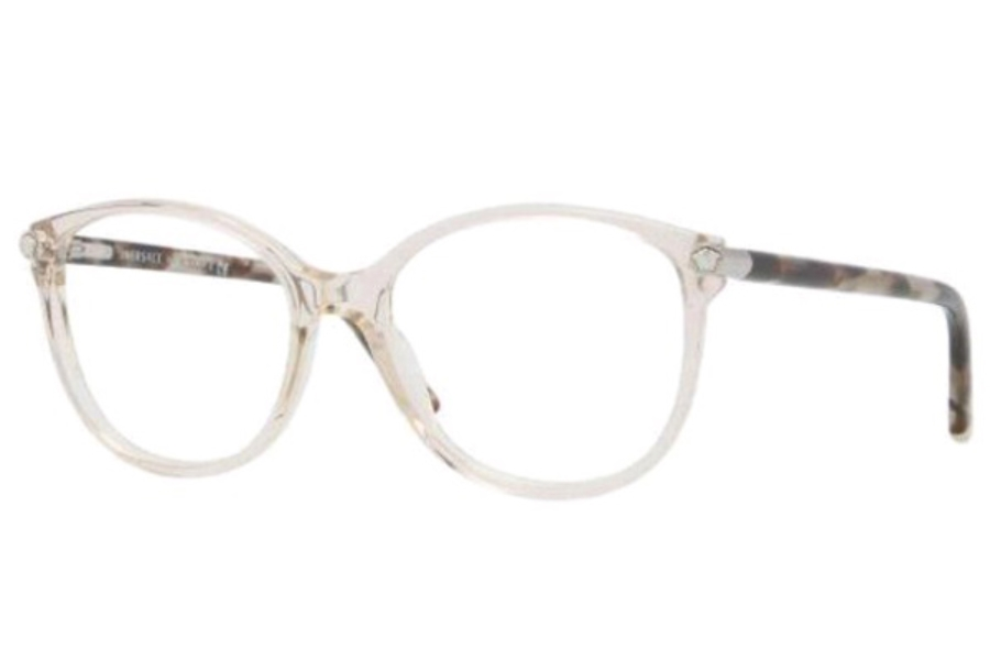 Clear Frame Versace Glasses : Versace VE 3169 Eyeglasses FREE Shipping - Go-Optic.com ...