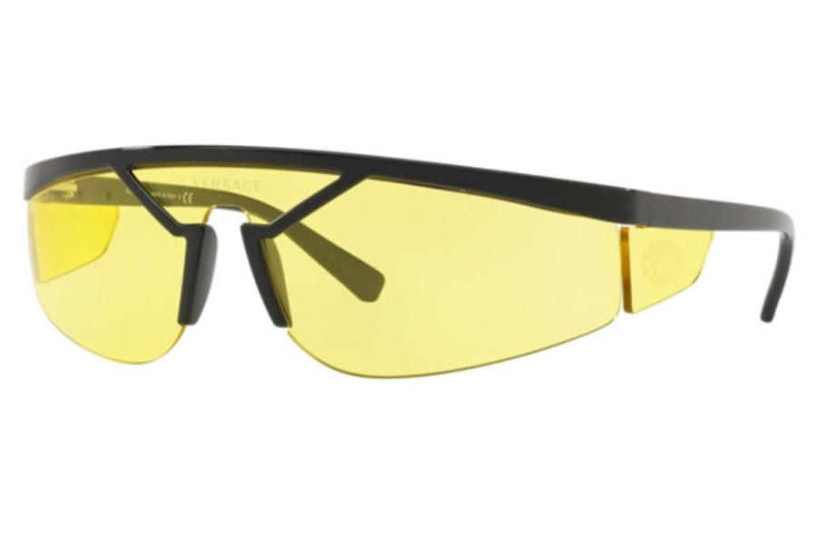 Versace VE 4349 Sunglasses in GB1/85 Black / Yellow