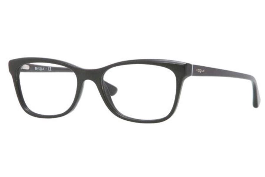 Vogue Eyeglass Frames Black : Vogue VO 2763 Eyeglasses - Go-Optic.com