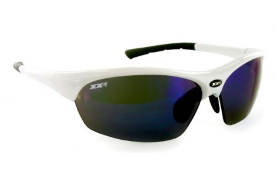 XX2i XX2i France1 Pro Racing Sunglass White + 2 Sets of Spare Lenses Sunglasses in XX2i XX2i France1 Pro Racing Sunglass White + 2 Sets of Spare Lenses Sunglasses