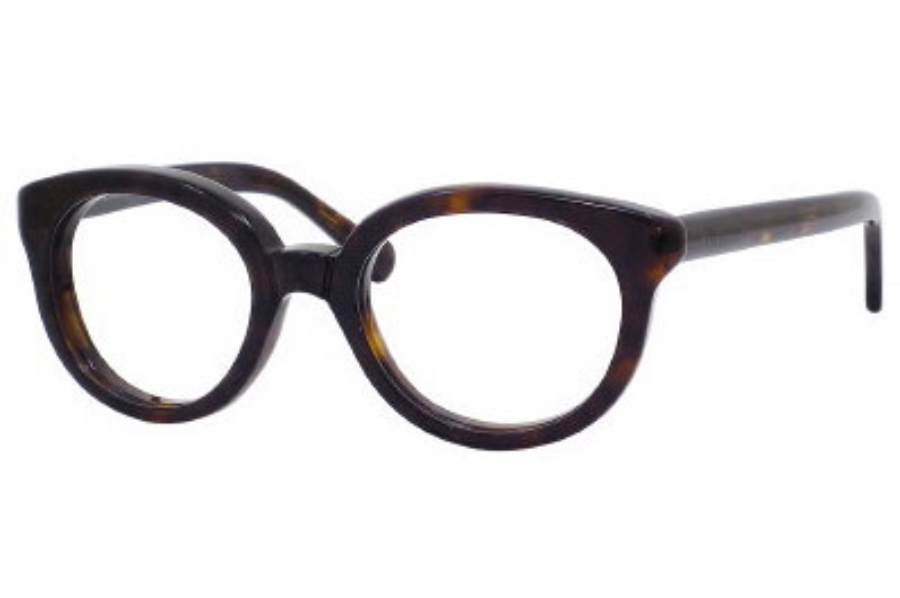 Balenciaga 0112 Eyeglasses in 0086 Dark Havana