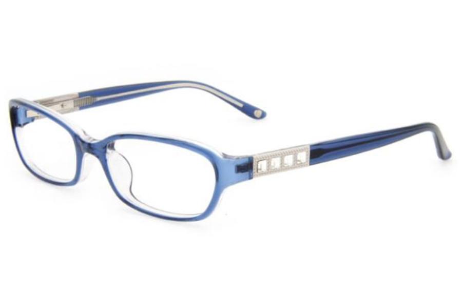 White Bebe Eyeglass Frames : Bebe BB5049 Flirty Eyeglasses FREE Shipping - Go-Optic.com