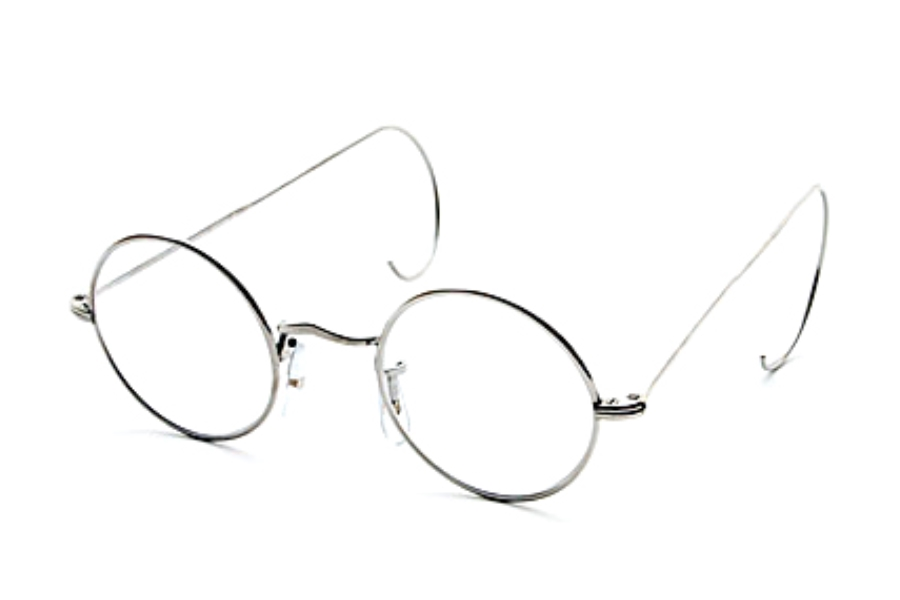 Savile Row 18KT Round (Cable Temples) Eyeglasses | FREE Shipping