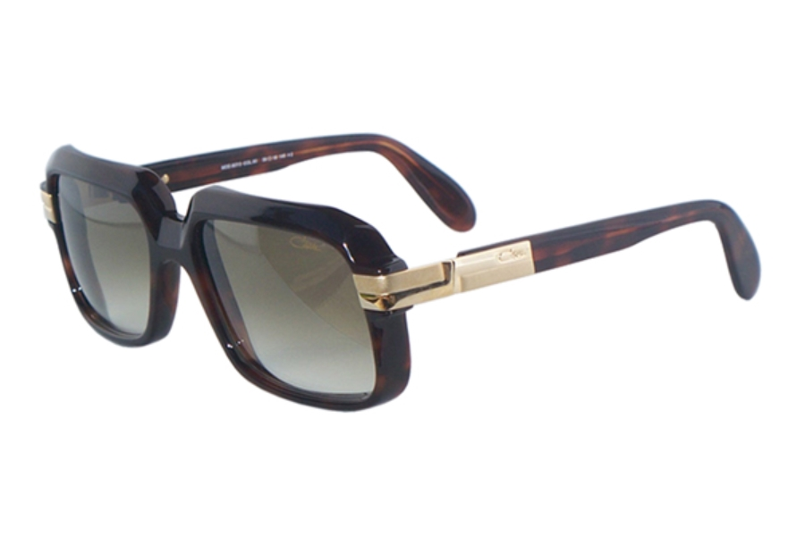 Cazal Legends 607 Sunglasses in 080-3 Amber Sun