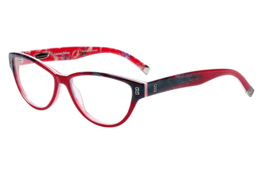 Coco Song Turning Turtles Eyeglasses in C2 Red