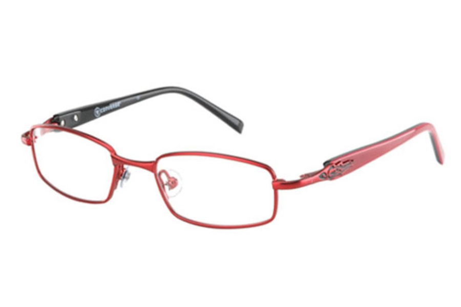 Converse Kids Ambush Eyeglasses in Red