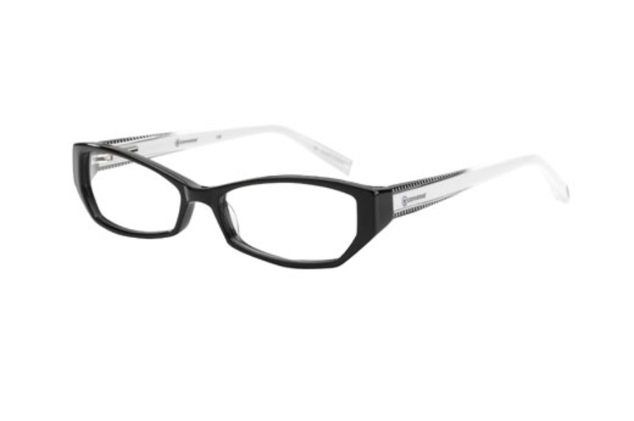 Converse Punky Eyeglasses in Black/White