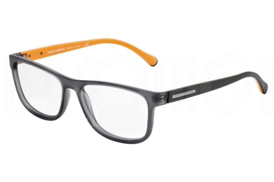 dolce gabbana dg 5003 eyeglasses in 2813 gray demi transp - Dolce And Gabbana Glasses Frames