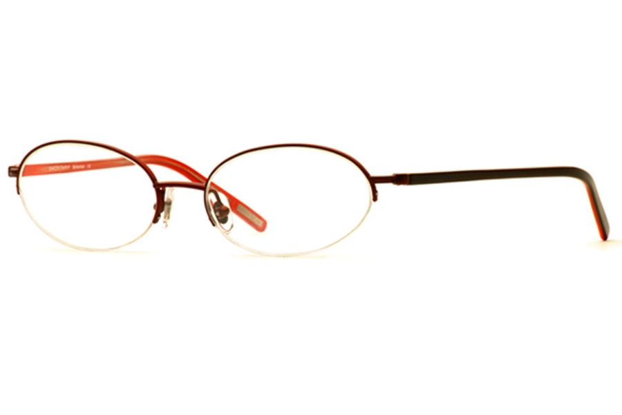 Dakota Smith Bohemian Eyeglasses in 50RD Volcano
