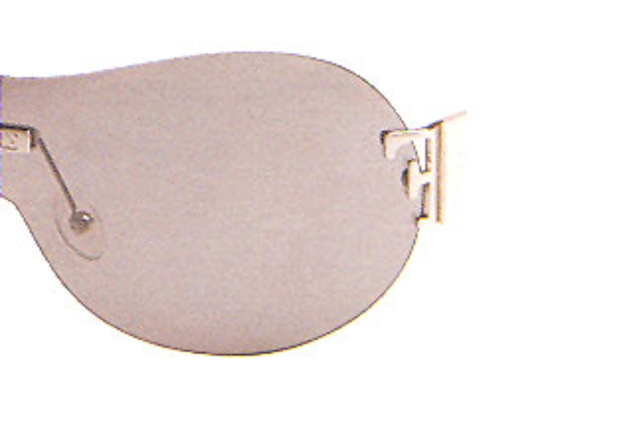 Gianfranco Ferre GF 769 Sunglasses in (04) Pearly White Smoke Flash Silver