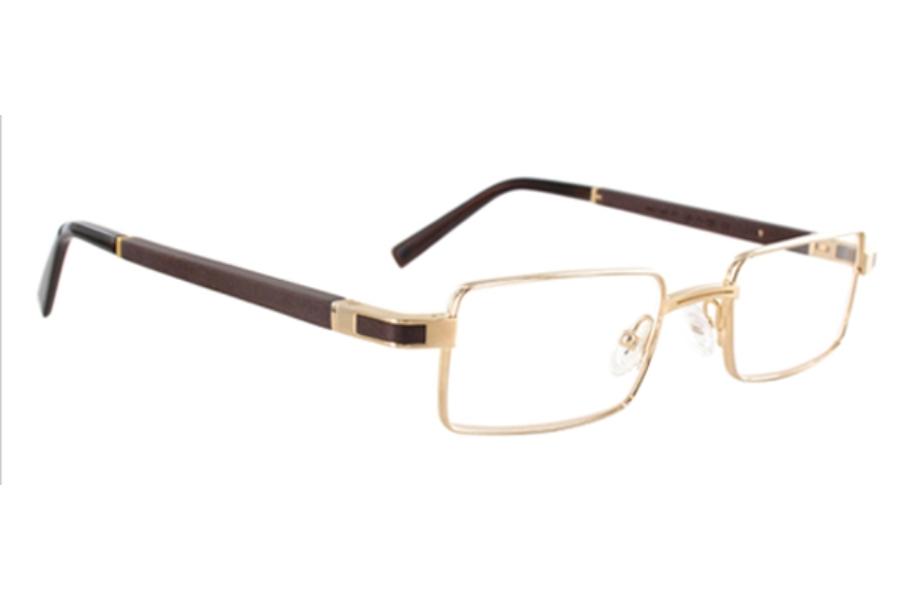 gold wood matar eyeglasses free shipping go optic