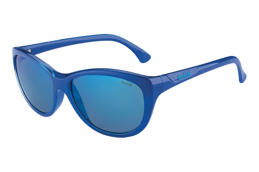 Bolle Greta Sunglasses in 12103 Shiny Blue GB-10 Lens