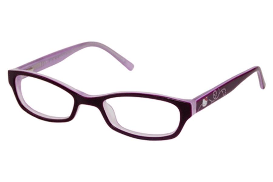 Glasses Frames Hk : Hello Kitty HK 244 Eyeglasses - Go-Optic.com