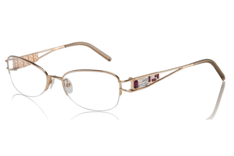 Eyeglass Frames Judith Leiber : Judith Leiber JL1581 Cubism Eyeglasses FREE Shipping ...