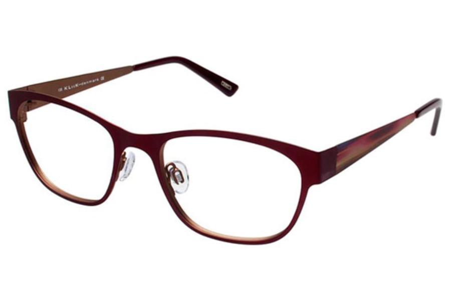 Eyeglass Frames Kliik : Kliik KLiiK 502 Eyeglasses FREE Shipping - Go-Optic.com