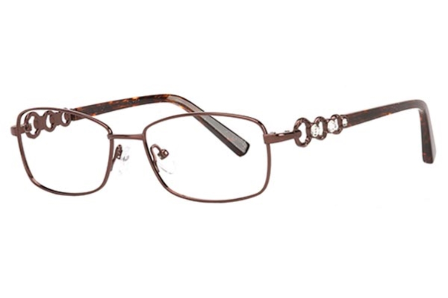 Clariti Mademoiselle MM9258 Eyeglasses in Cocoa