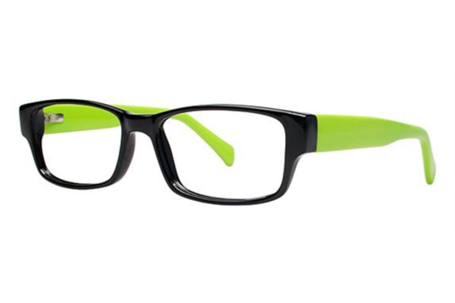 I Green Eyeglass Frames : Modern Optical Chill Eyeglasses - Go-Optic.com