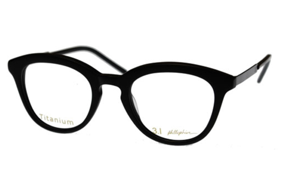 3.1 Phillip Lim Parker Eyeglasses in Matte Black