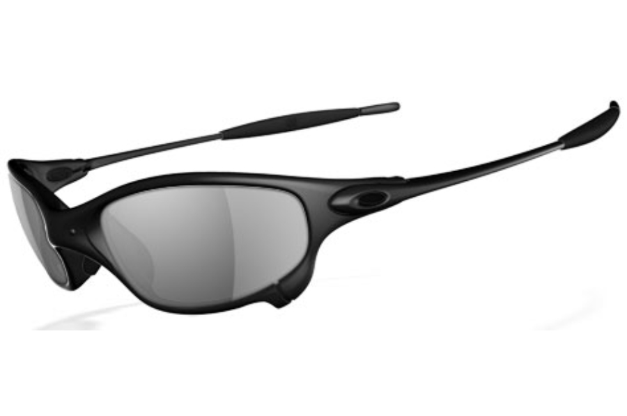 Oakley Juliet Polarized Sunglasses in Carbon Black Iridium Polarized