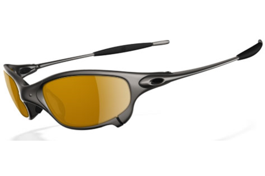 Oakley Juliet Polarized Sunglasses in Plasma Dark Bronze Polarized