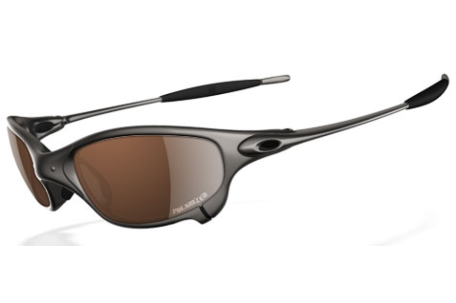 Oakley Juliet Polarized Sunglasses in Plasma VR28 Black Iridium Polarized