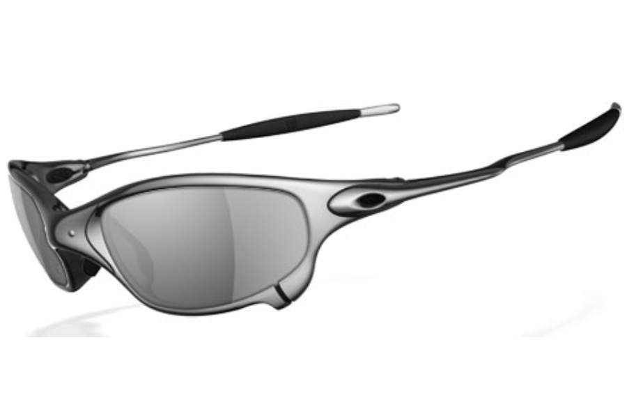 Oakley Juliet Polarized Sunglasses in Polished Black Iridium Polarized