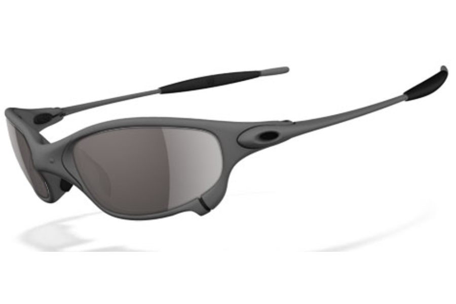 Oakley Juliet Polarized Sunglasses in XMetal Warm Grey Polarized