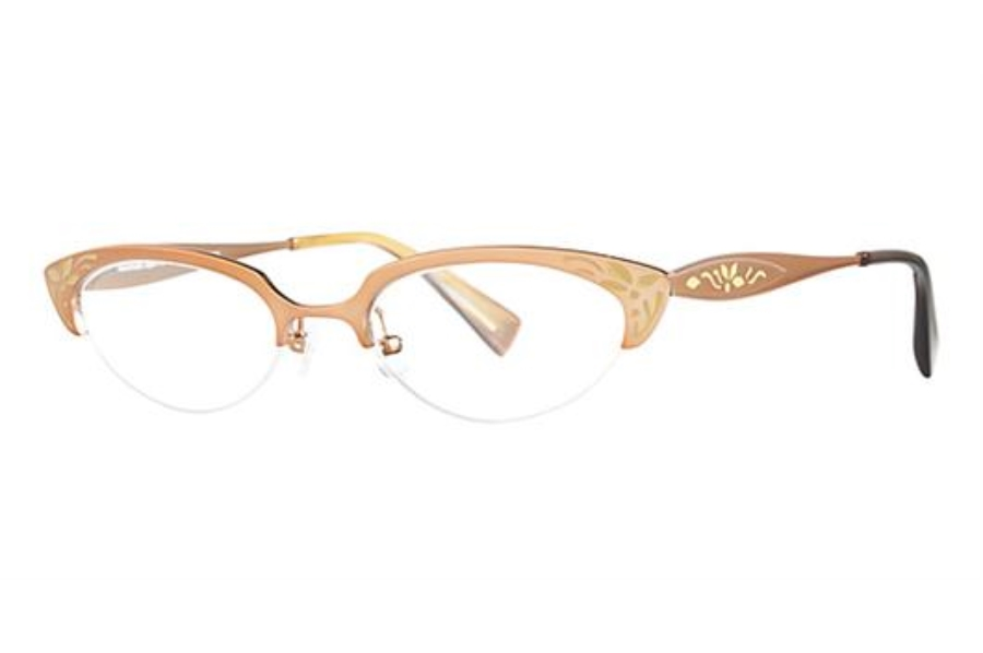 Seraphin by OGI HARRIET Eyeglasses in 8580 BROWN