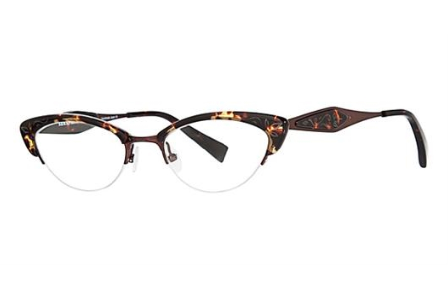 Seraphin by OGI MARQUETTE Eyeglasses in 8595 - Tokyo Tortoise/Satin Copper