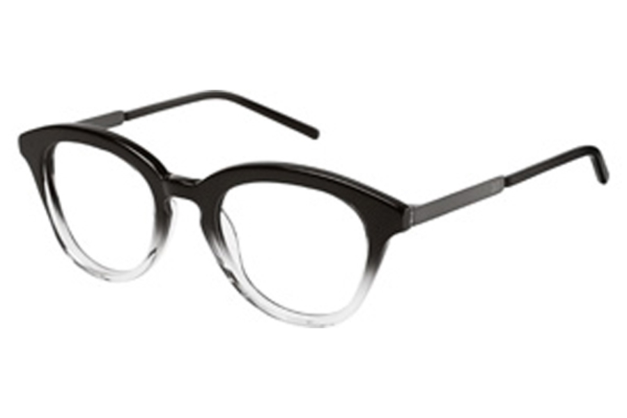 3.1 Phillip Lim Parker Eyeglasses in Black (Black clear gradient)