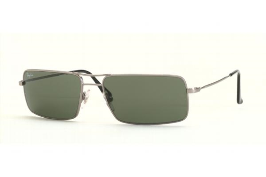 Ray-Ban RB 3240 Sunglasses in Steel Grey w/G-15 XLT Lenses - (005/)