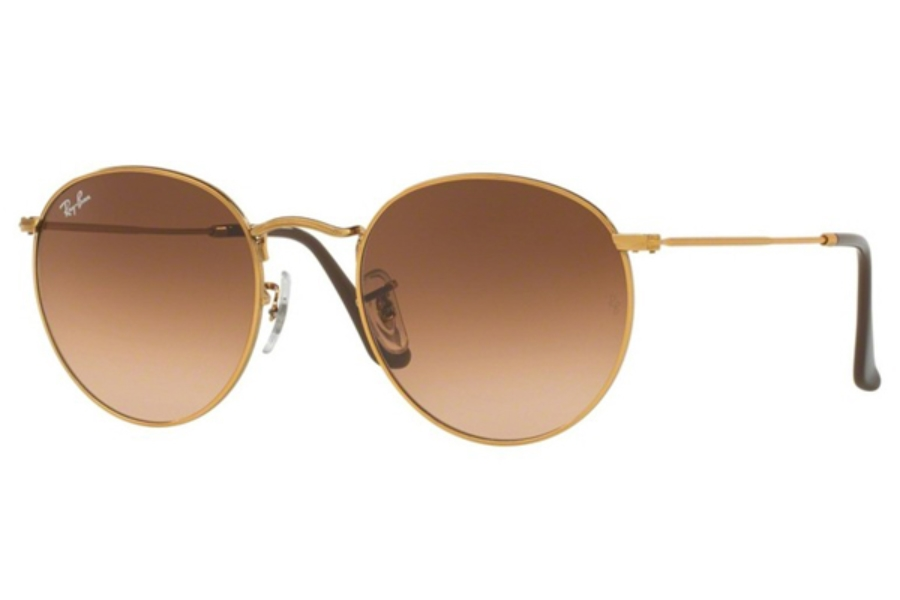 Ray Ban Rb 3447 Round Metal Sunglasses Free Shipping