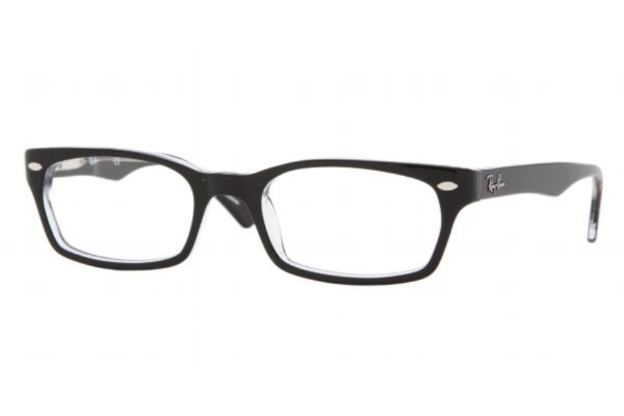Ray-Ban RX 5150 Eyeglasses in 2034 Top Black Transparent