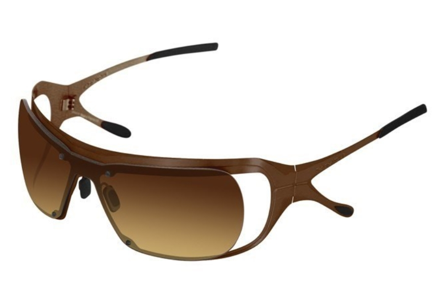 Parasite Toy Sunglasses in C14 Chocolate / Brown