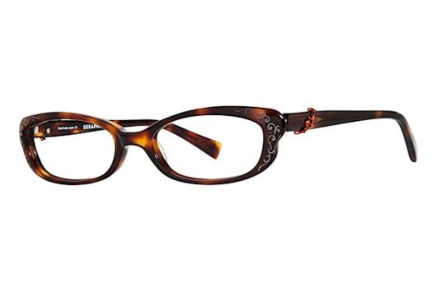 Seraphin by OGI BRYANT Eyeglasses in 8551 - Blonde Tortise