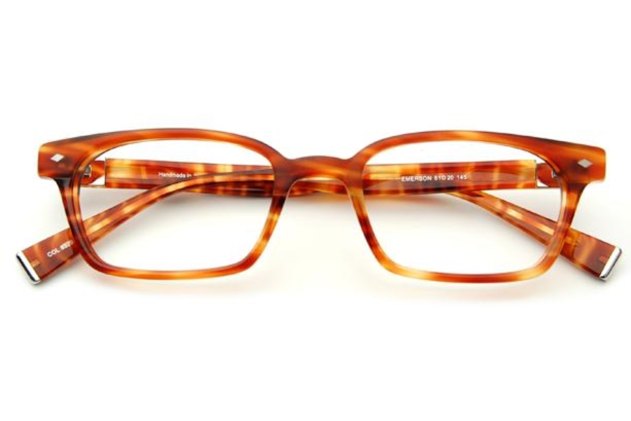 Seraphin by OGI EMERSON Eyeglasses in 8529 Sycamore Tortoise
