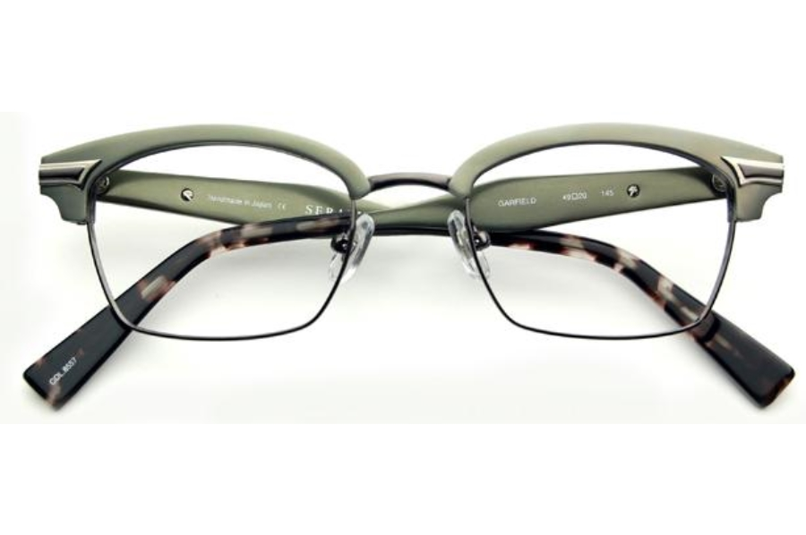 Seraphin by OGI GARFIELD Eyeglasses in 8557 - Matte Dark Gunmetal