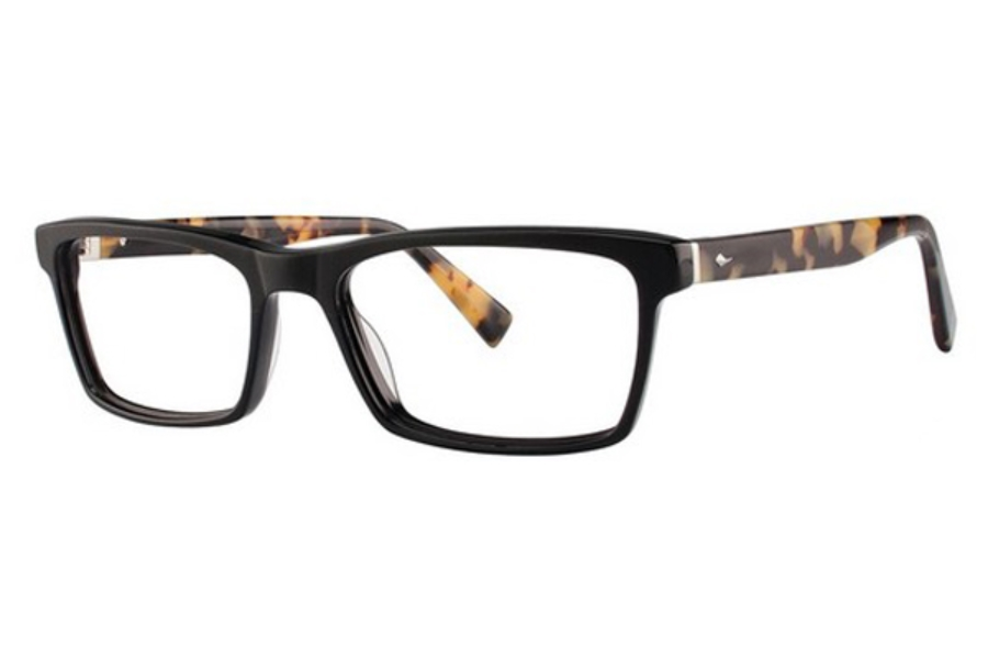 Seraphin by OGI ROOSEVELT Eyeglasses in 8902 BLACK/BUTTERSCOTCH TORTOISE