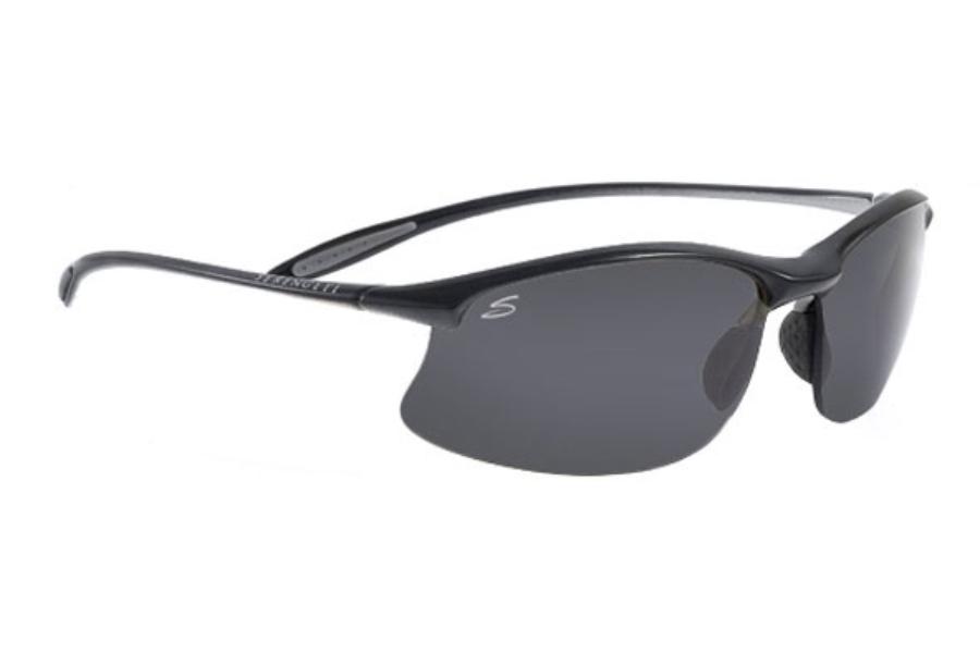 Serengeti Maestrale Sonnenbrille Satin Schwarz 7356 Polarisiert 65mm hXHBdZmz5