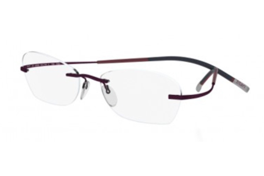 Silhouette 4247 7581 Chassis Eyeglasses Free Shipping