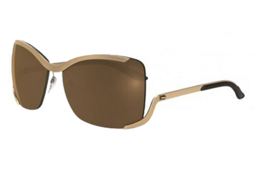 Silhouette 8140 Sunglasses in 6225 Gold Mirror