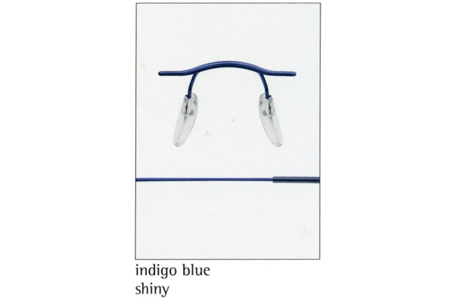Silhouette 7626 (7799 Chassis) Eyeglasses in 6054 Indigo Blue
