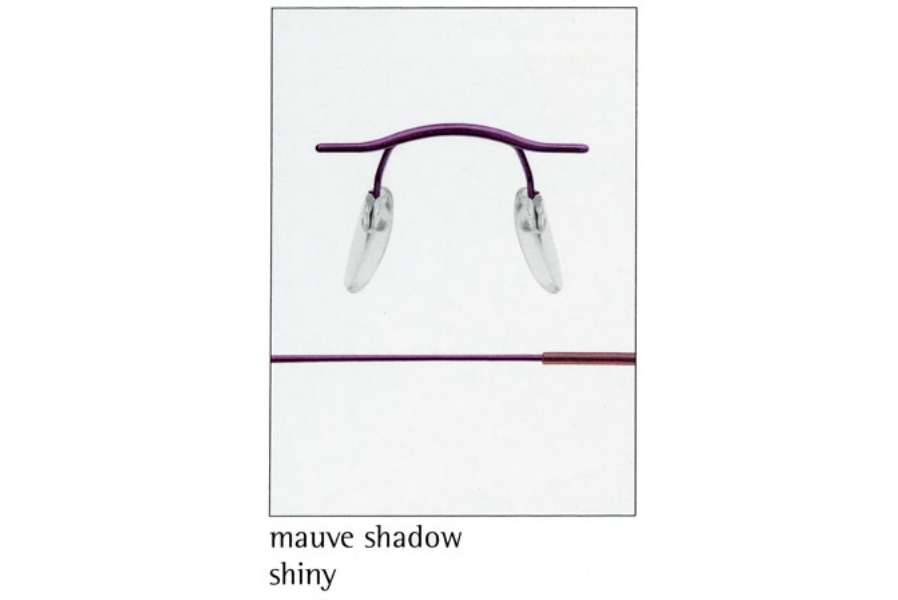 Silhouette 7626 (7799 Chassis) Eyeglasses in 6057 Mauve Shadow