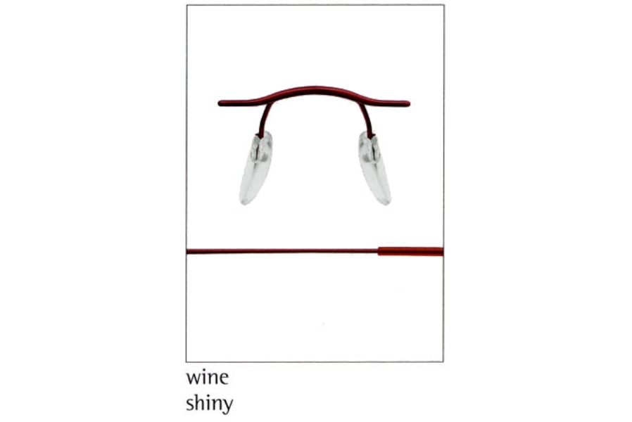 Silhouette 7626 (7799 Chassis) Eyeglasses in 6066 Wine