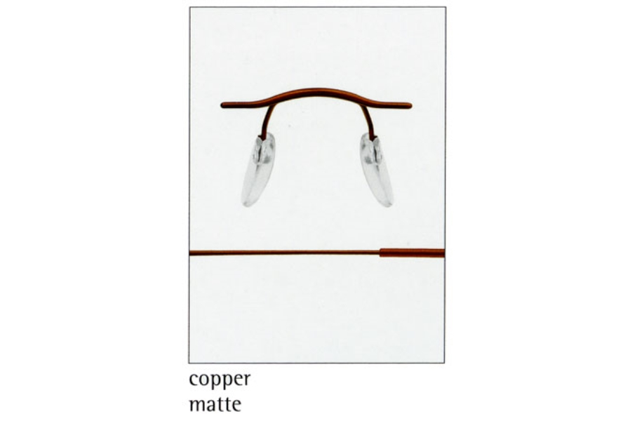 Silhouette 7626 (7799 Chassis) Eyeglasses in 6069 Copper