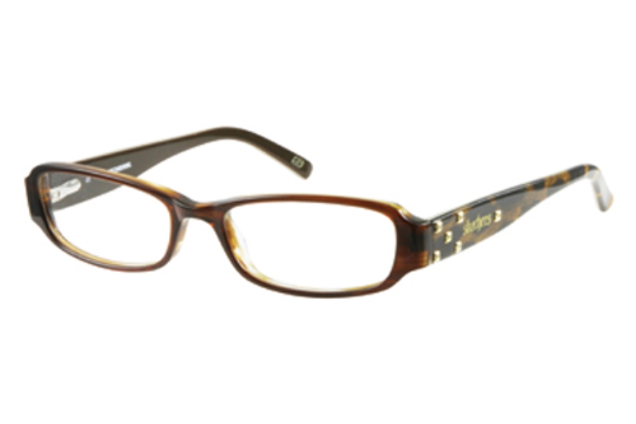 Skechers SK 2011 Eyeglasses in BRN: BROWN ON GLITTER